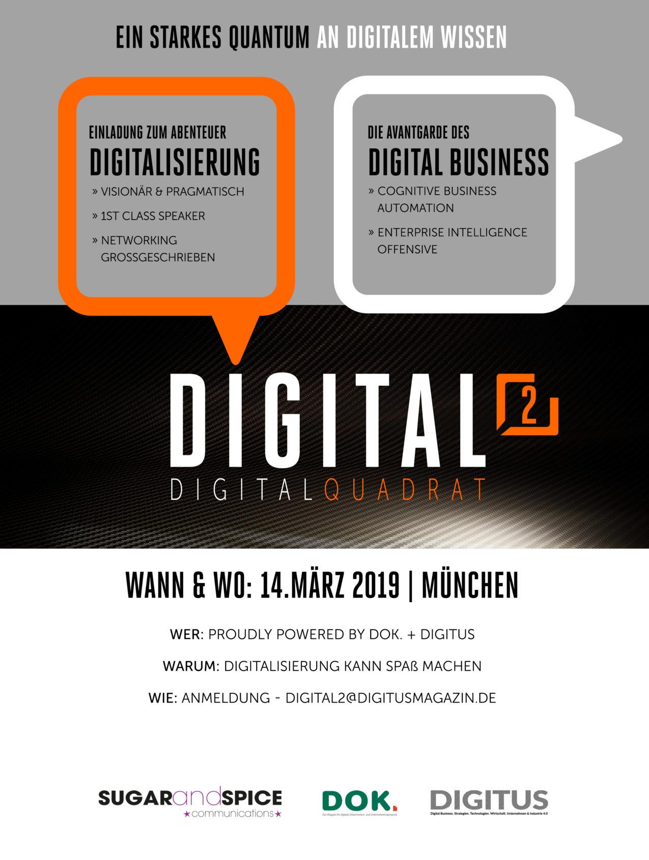 Konferenz Digital Quadrat München